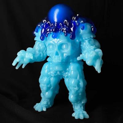 Tenacious Toys Exclusive Skull Dangler Boo Berry Glow in the Dark Edition Vinyl Figure by DuBose Art