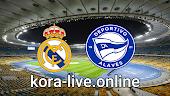 مباراة ديبورتيفو ألافيس وريال مدريد بث مباشر  بتاريخ 23-01-2021 الدوري الاسباني
