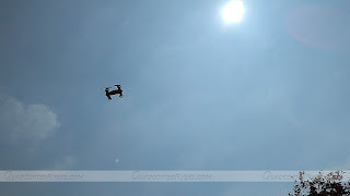 Sy X25 Quadcopter Car Flying High