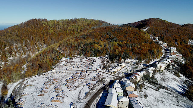 السياحة في تركيا - جبال كورى التركية.. جمال طبيعي يزهو بألوان الخريف والشتاء