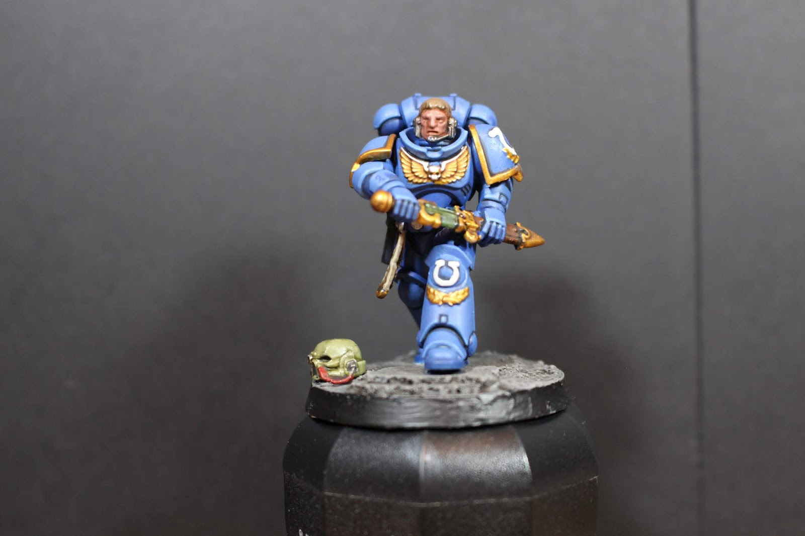 SpungeHammer Painting: Lieutenant Calsius: The road to