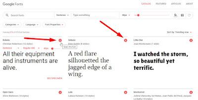 Cara Mengganti / Mengubah Font Di Blogger / Web Dengan Mudah