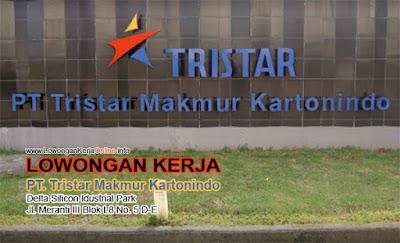 Loker PT Tristar Makmur Kartonindo