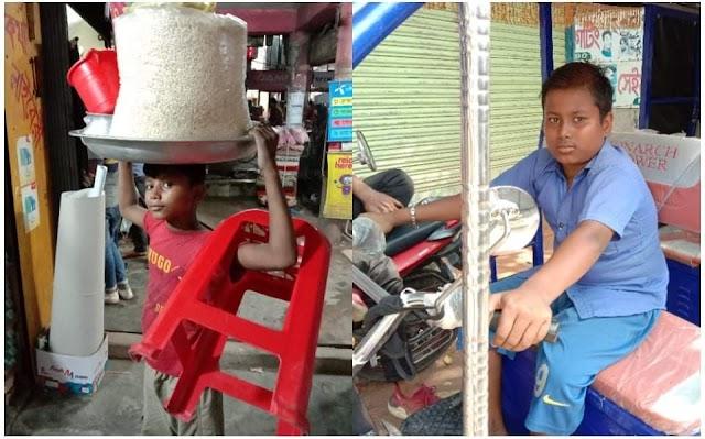 নারায়ণগঞ্জ জেলায় ব্যাপক হারে বাড়ছে শিশু শ্রম।