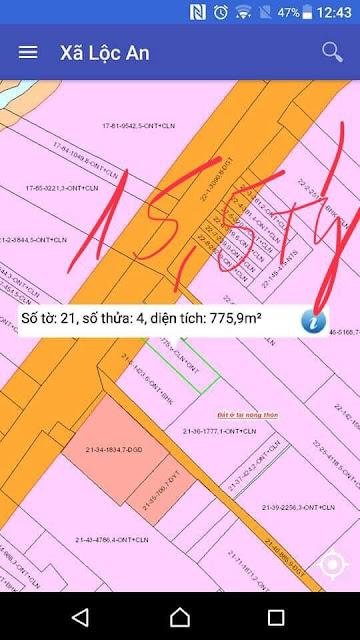 Đất mua bán nhanh cho anh chị đầu tư DT 769 xã Lộc An, huyện Long Thành, Đồng Nai