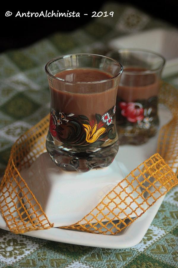 Liquore alla Nutella e White Rum