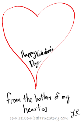 Happy Valentine's Day from the bottom of my heart