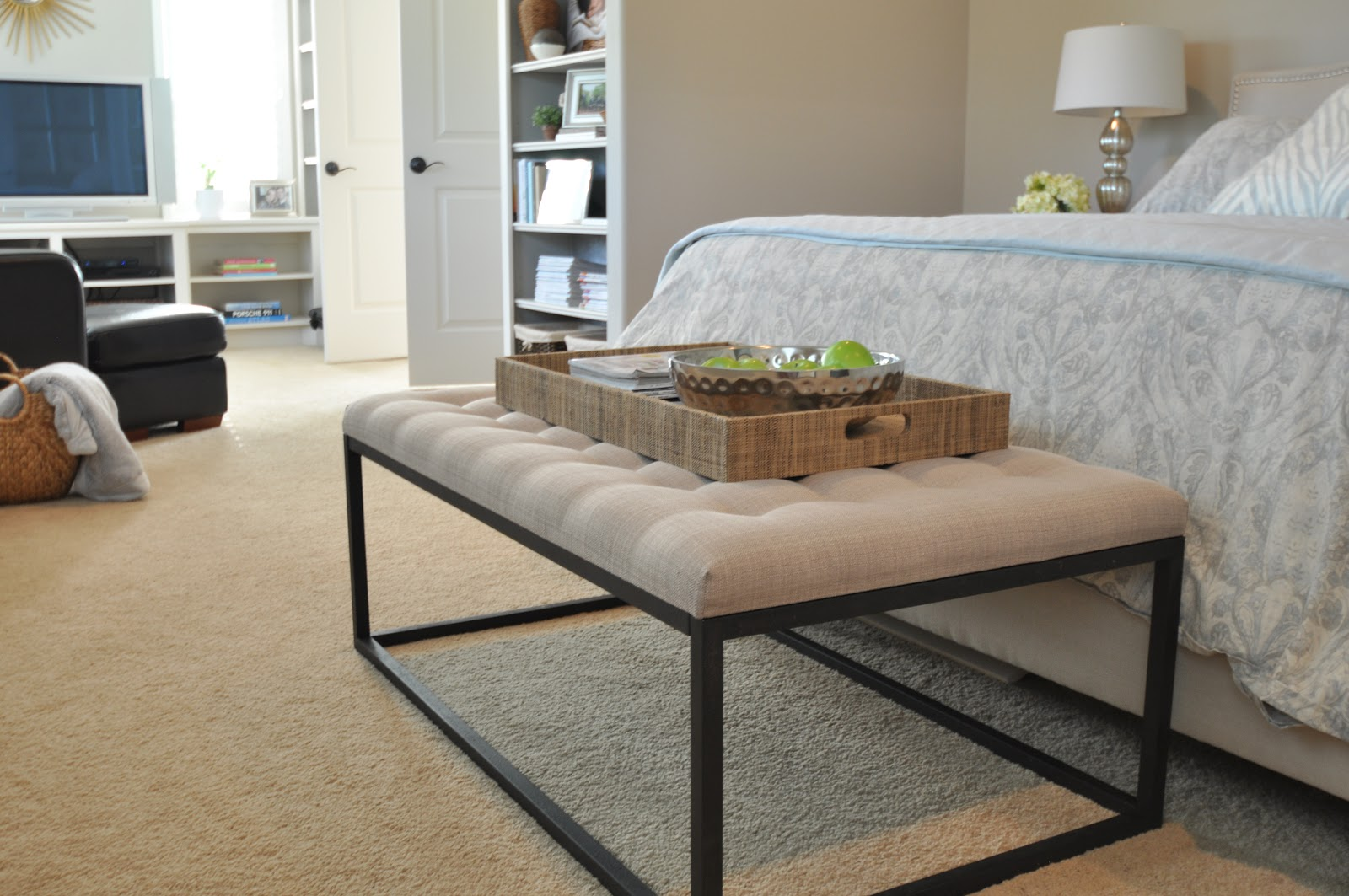 end of the bed bench under 300 honey we 39 re home. Black Bedroom Furniture Sets. Home Design Ideas
