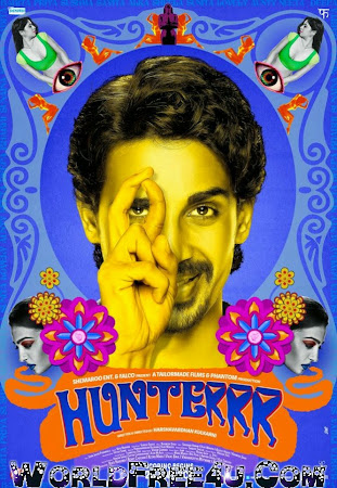 Poster Of Hindi Movie Hunterrr 2015 Full HD Movie Free Download 720P Watch Online