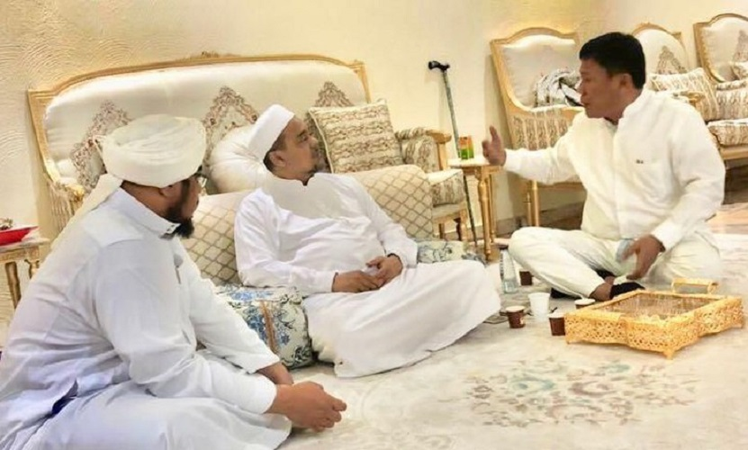 Politikus PDIP Erwin kunjungi Habib Rizieq