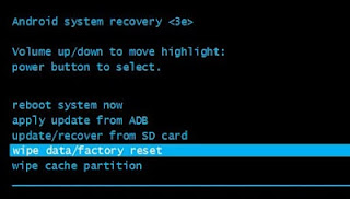 how to reset huawei y9 2019