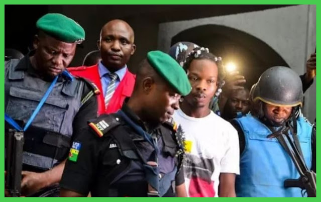 Naira Marley accompanied to Court