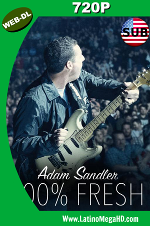 Adam Sandler: 100% Fresh (2018) SUBTITULADO HD WEB-DL 720P ()