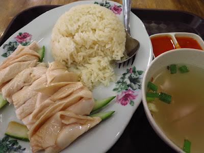 Tangs Market, chicken rice