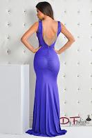 rochie-lunga-de-ocazie-Purple Mermaid