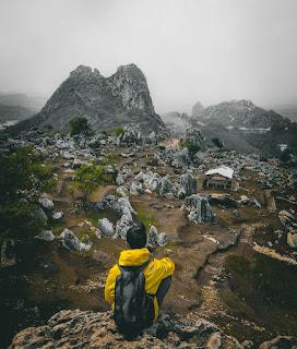 Seperti Ini Eksotisme Stone Garden Geopark Citatah Bandung