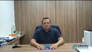Assista: Presidente da Câmara Municipal de Sapé desmente secretário de saúde David Roberto