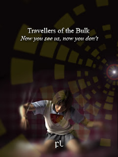 Travellers of the Bulk - Now you see us, now you don't Cover