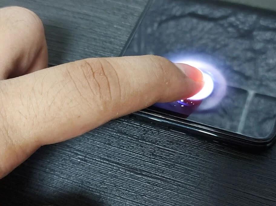 OPPO Reno3 Pro In-Display Fingerprint Sensor