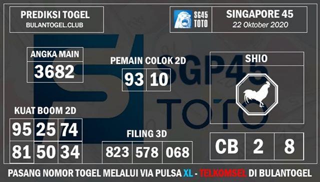 Kode syair Singapore Kamis 22 Oktober 2020 148