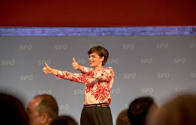 ريندي فاكنير تشكر سكان فيينا على ثقتهم في السياسة الاجتماعية