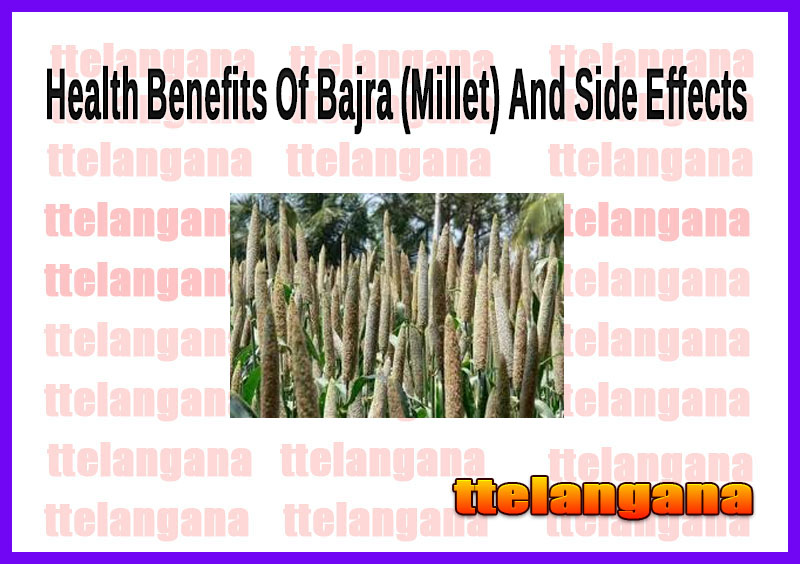 Health Benefits Of Bajra (Millet) And Side Effects
