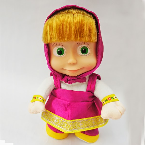 Gambar boneka masha lucu banget