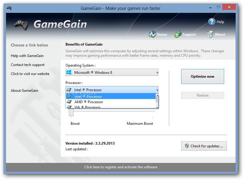 Gamegain 2 key generator