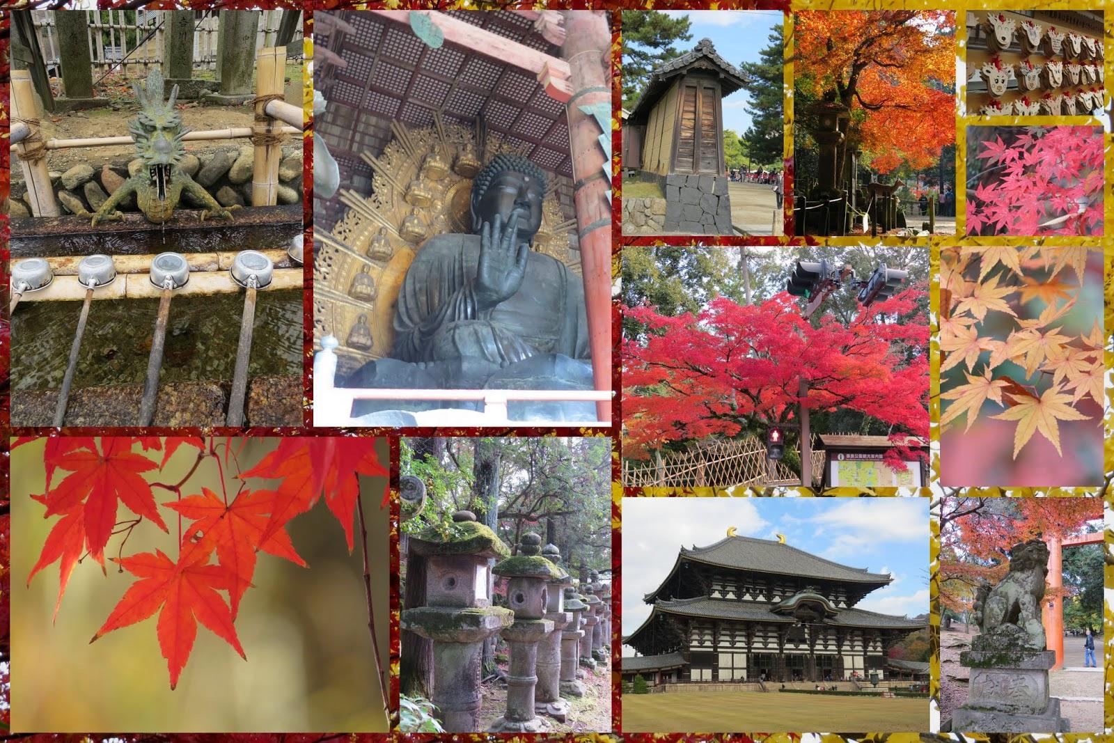 Temples at Nara, Japan