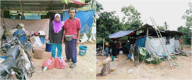 Walau Tinggal di tenda, ayah ini bisa kuliahkan tiga anaknya