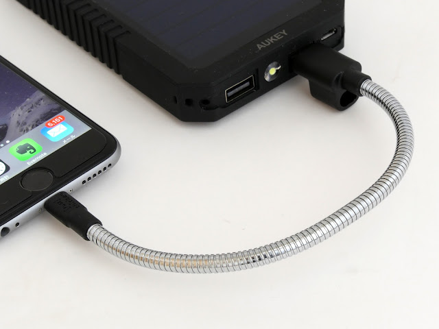 IPhone Lightning(Lightning)电缆TITAN LOOP评论真的永不休息
