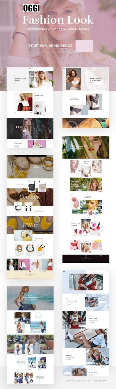 OGGI WooCommerce WordPress Theme