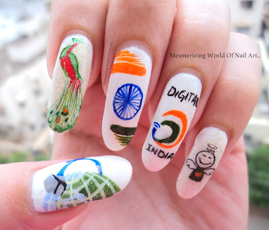 Mesmerizing World Of Nail Art...
