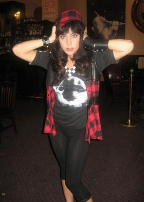 Lady Gaga before she has made a fame  XB Hot Celebrities Entertainment Gossips