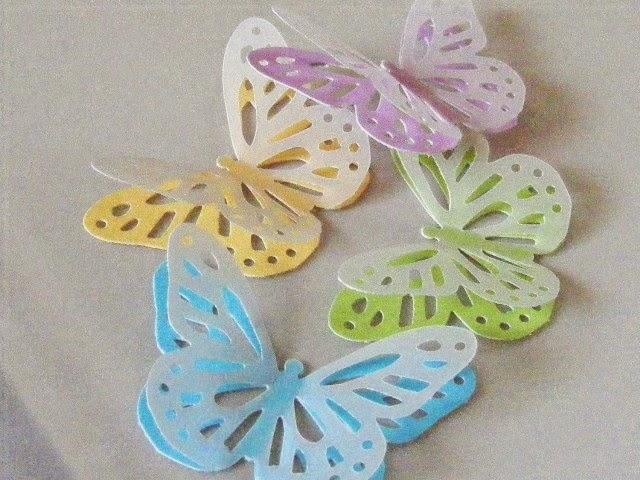 Скрапбукинг бабочка