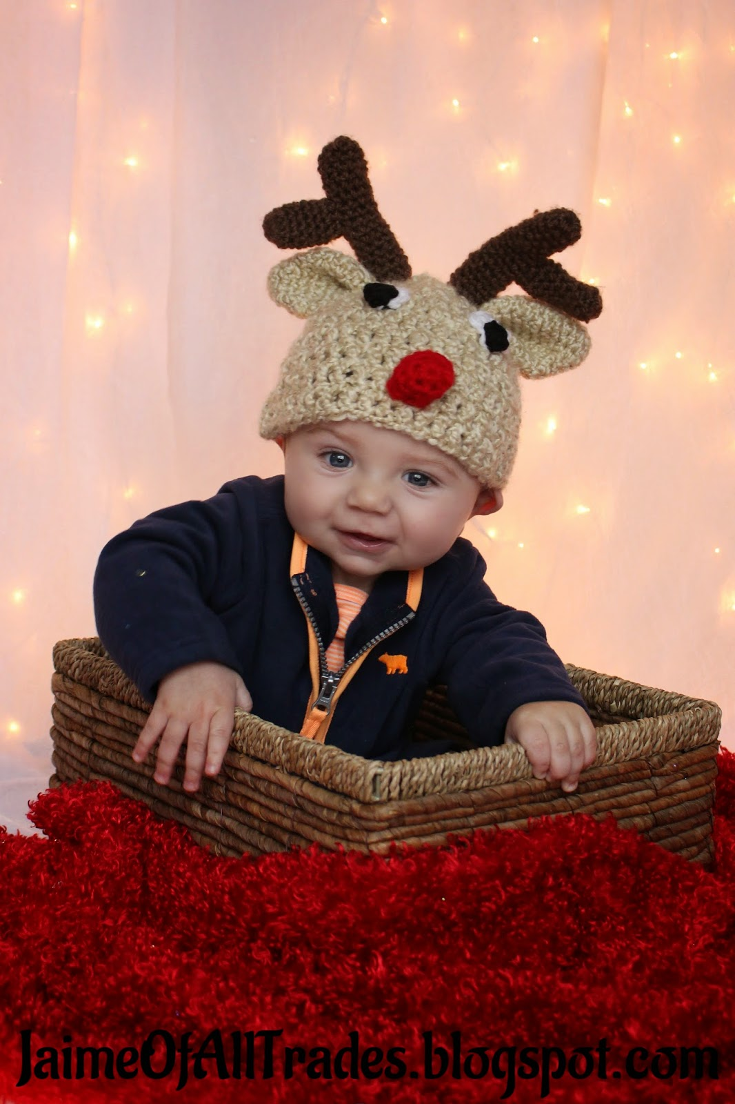 My little model is my 6 month old nephew. He does have a larger than  average head size for his age a0c9e777722