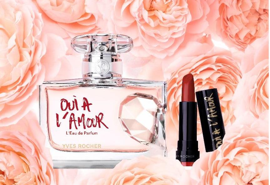 Oui A Lamour Leau De Parfum Yves Rocher Classy And Pink
