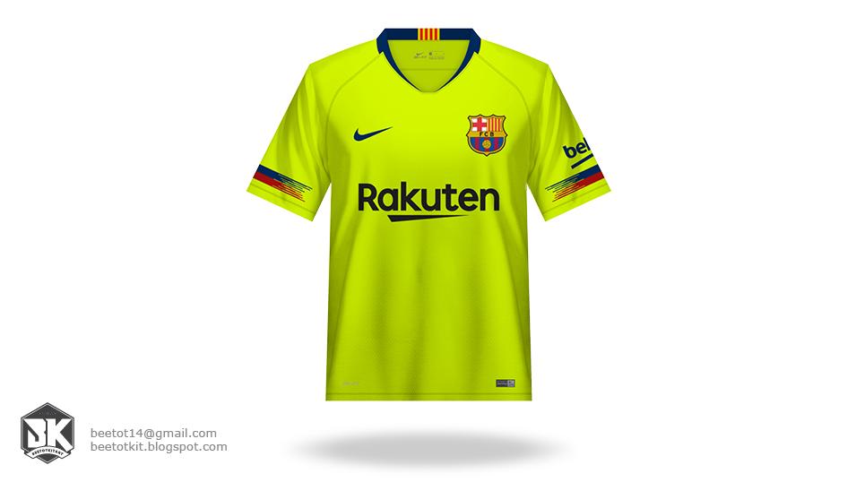 buy popular 98810 47b4b Beetot Kit: FC Barcelona Kit 1819