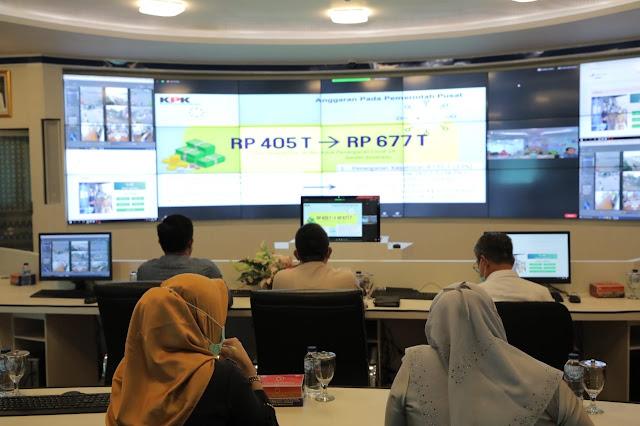 Palembang Laporkan Serapan Dana Belanja Tak Terduga ke KPK