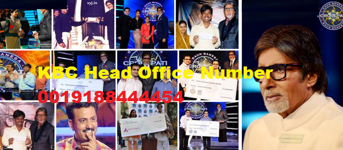 kbc head office number 0019188444454 Mumbai