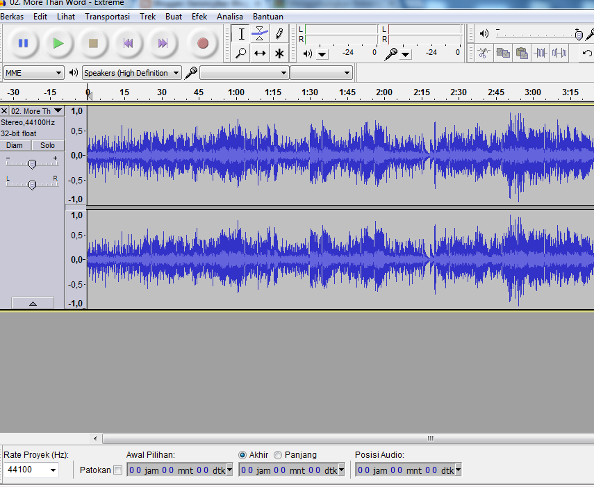 Teknologi Informasi Jaringan Cara Menggabungkan Beberapa Lagu Menjadi Satu File Mp3