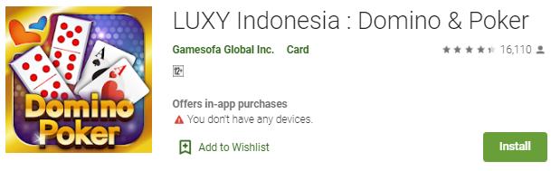 Kelebihan Game Luxy Indonesia - Domino Dan Poker Online