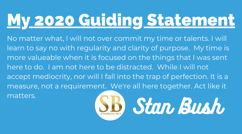 2020 Guiding Statement