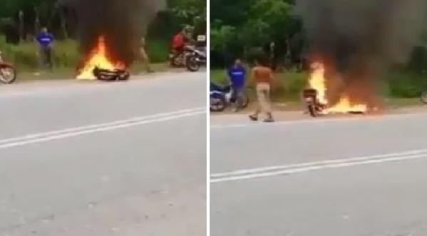 Bakar Motor Jika Kalah, Syarat Pelumba Haram Dalam Pertaruhan, Video Ini Buktinya
