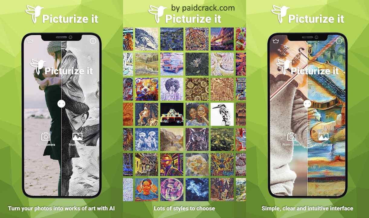 Picturize it - Turn your photos into art Mod Apk
