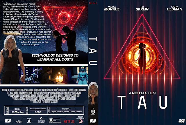Tau DVD Cover