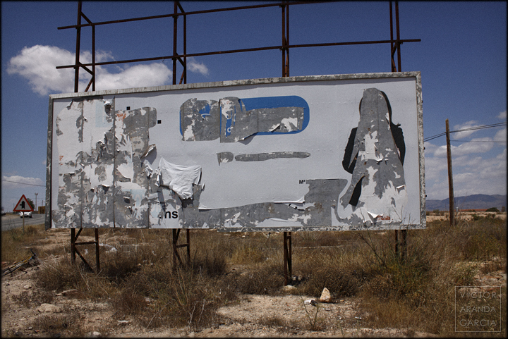fotografía, cartel, Límites, Arriba Extraña, Fuente Álamo