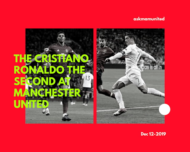 The Cristiano Ronaldo the second at Manchester United