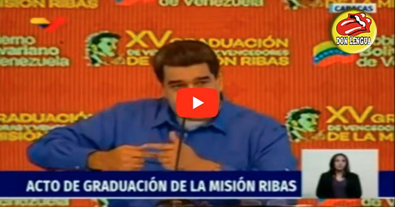 Maduro exige que no se gradúen a tantos abogados y administradores porque necesitamos campesinos