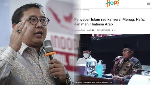 Tuding Radikalisme Masuk Masjid lewat Hafidz Quran, Fadli Zon Minta Menag Diganti